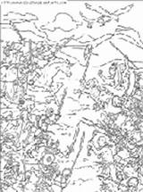 Narnia Coloring Pages sketch template