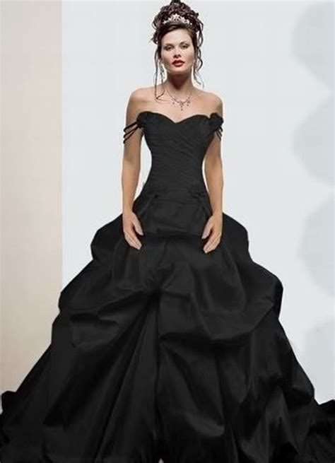 25 best ideas about black wedding dresses on pinterest