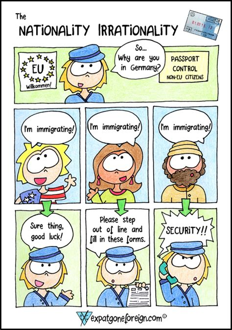 The Nationality Irrationality  Expat Gone Foreign