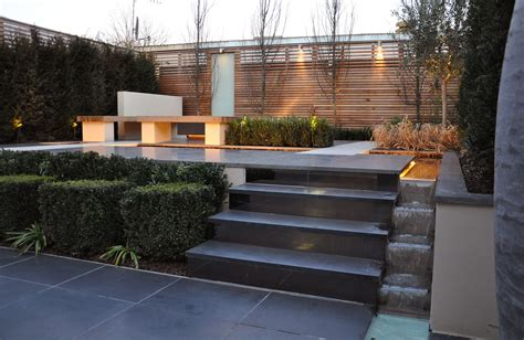 exterior amazing outdoor fireplace by milieu design