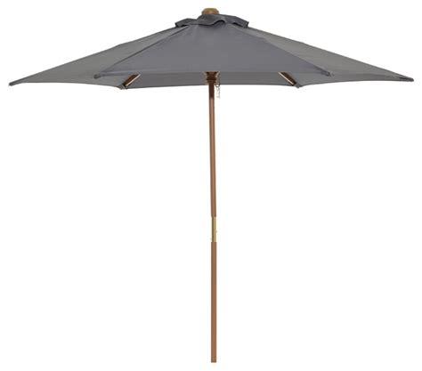 2m grey parasol modern outdoor umbrellas