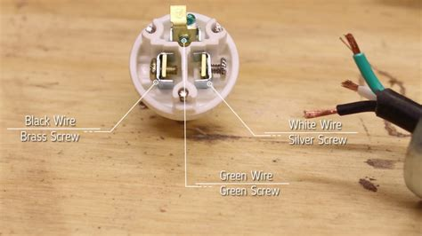 replace  extension cord plug youtube