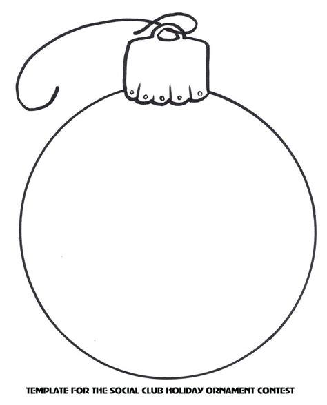 christmas ornament outlines printable templates of decorations psoriasisguru