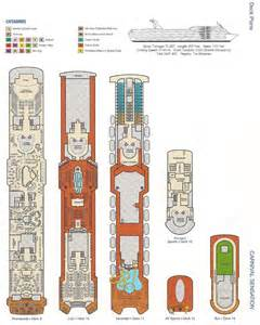 carnival sensation deck plan