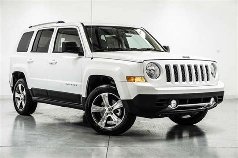 white jeep patriot 2017 three type of 2017 jeep patriot with specs and feature 187 rti