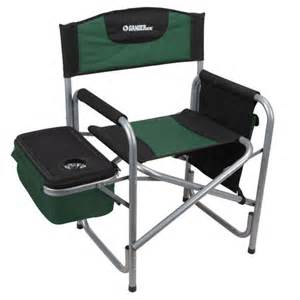 gander mountain steel directors chair with cooler