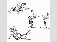 Kleine Ballspiele Posten – Koordination und