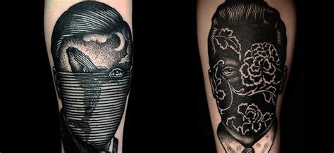unusual portraits  master tattooer pietro sedda scene