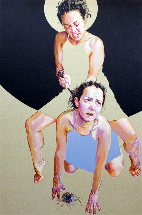 acrylic paintings  cristina troufa