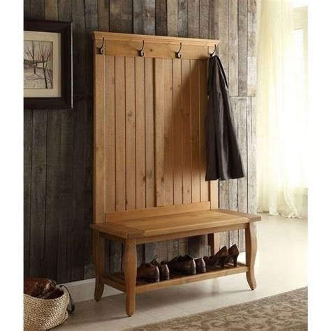 Entryway Benches With Storage And Coat Rack - new tree bench coat rack entry way mud room wooden