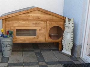 Katzenhaus Selber Bauen Anleitung : ich wollte euch mal unser neues winterfestes outdoor katzenhaus zeigen wir haben ja neben ~ Orissabook.com Haus und Dekorationen