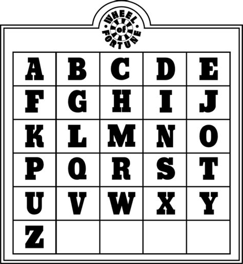 wheel fortune game board appreciation buyavowel boards adults party