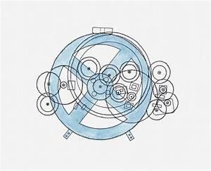 Diagram Of Astronomical Calculator  Ancient Greece Image
