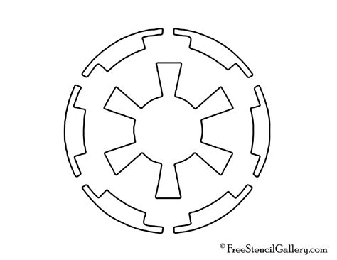 Halloween Faces For Pumpkins Carving by Star Wars Galactic Empire Symbol Stencil Free Stencil
