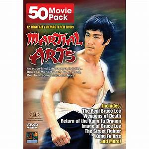Martial Arts Classics 50 Movie DVD Set 148195, DVD's at Sportsman's Guide