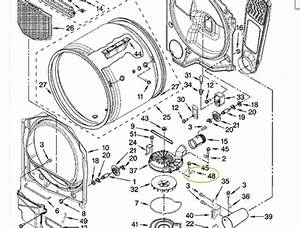 Kenmore Dryer Wiring Diagram On 80 Series  Kenmore  Free