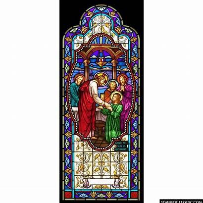 Communion Glass Stained Window Church 1078 Jesus