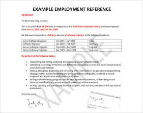 exle of employment references reference letter template 42 free sle exle format free premium templates