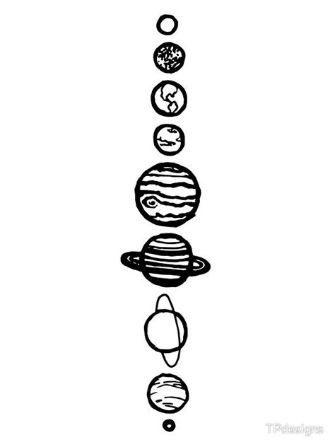 White Planets | Sticker | Space drawings, Planet drawing