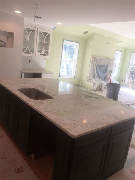pictures of kitchens with grey cabinets salina white kitcken granite countertops hesano brothers 9121