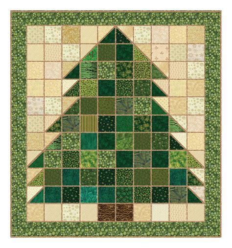 make a rag strip christmas tree tree rag quilt pattern