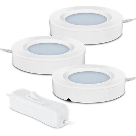 led cabinet lighting kits 3 westek bright led ultra slim cabinet puck