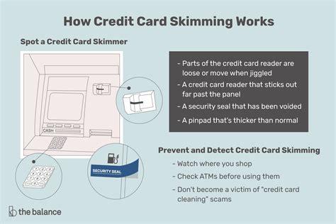 credit card skimming work