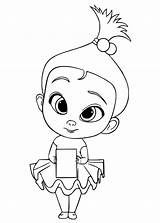 Boss Coloring Pages Staci sketch template