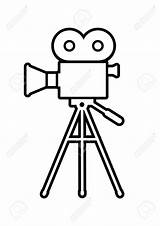 Camera Drawing Icon Background Getdrawings sketch template