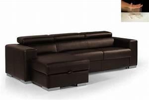 canape d39angle rapido sidney memory couchage quotidien With canapé angle couchage quotidien