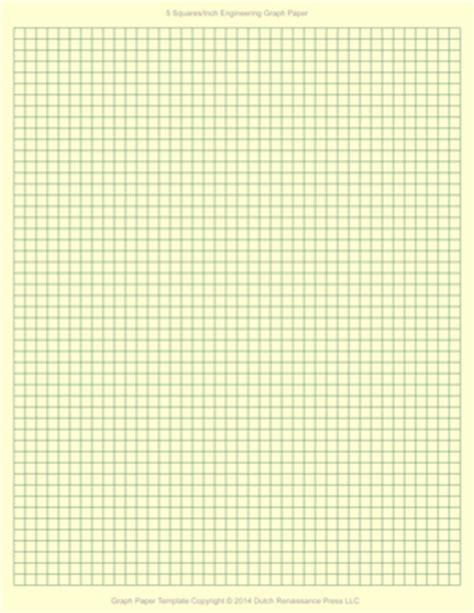 engineering graph paper template  letter printable