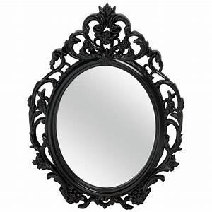 Miroir Baroque Noir : le miroir le reflet design de votre d coration ze news ~ Teatrodelosmanantiales.com Idées de Décoration