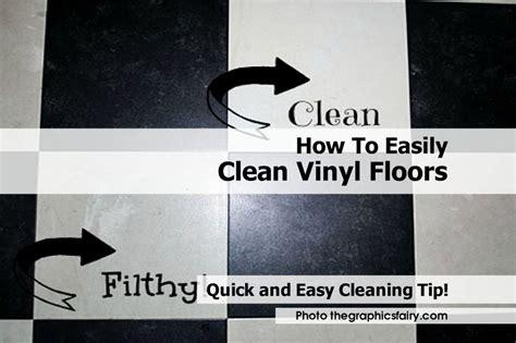 vinyl flooring how to clean how to easily clean vinyl floors