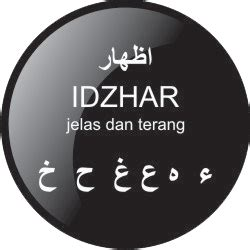 hukum idzhar halqi bacaan tajwid