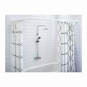 Tringle A Rideau 3m : tringle rideau de douche sans per age ferme artella ~ Dallasstarsshop.com Idées de Décoration