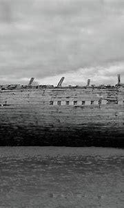 Bad Eddie's Boat 2 bw Donegal Photograph by Eddie Barron