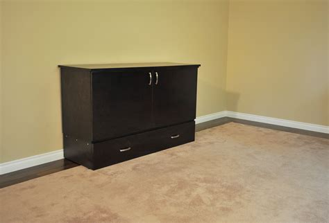 stanley deluxe cabinet bed murphy bed  cabinetbed