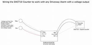 Digital Counter Wiring Diagram