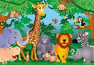 Image Gallery jungle wallpaper childrens