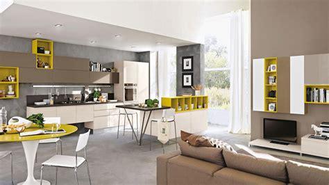 cucina soggiorno open space o locali separati