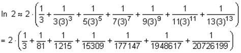 berechnung von logarithmen