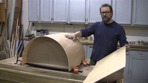 Curved Cupboard Doors - how to make a curved cabinet door
