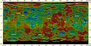 NASA Scientists Produce New Topographic Maps of Ceres ...