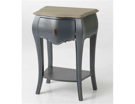 Tables De Nuit by Table De Nuit Baroque Gris Amadeus Pas Chere