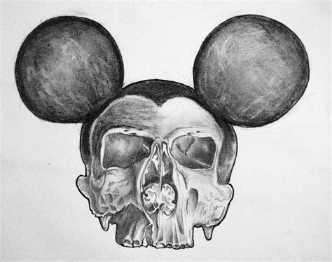 Dead Mouse Drawing Pencil Charcoal Skulls Pinterest