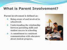 Parent Involvement in Education