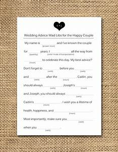 wedding mad libs wedding shower game things i love With guest libs wedding edition template