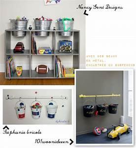 Diy Rangement Chambre : chambre enfant seaux rangement jeux teo pinterest seaux ~ Preciouscoupons.com Idées de Décoration