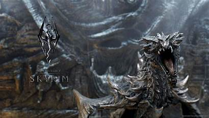 Skyrim Dragon Wallpapers Cave