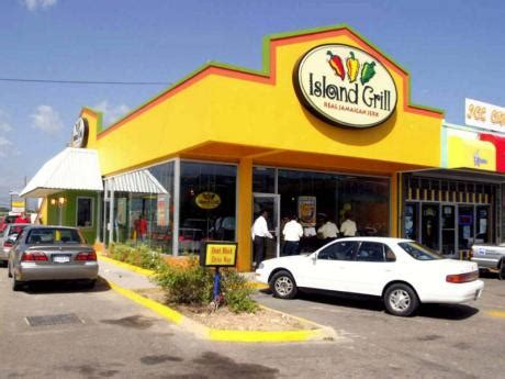 island grill comes of age new commissary opens today